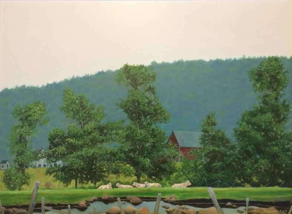 Evan Maxwell painting