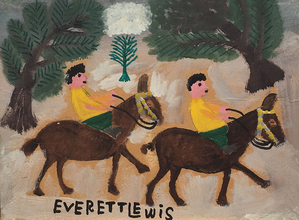Everett Lewis painting for sale