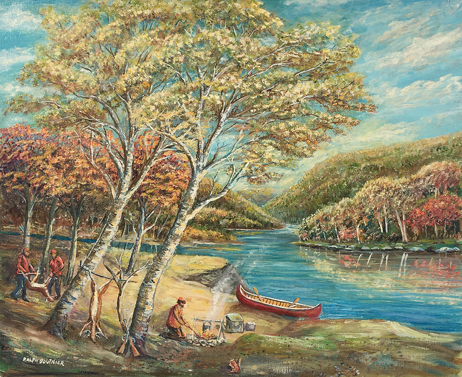 Ralph Boutilier painting for sale