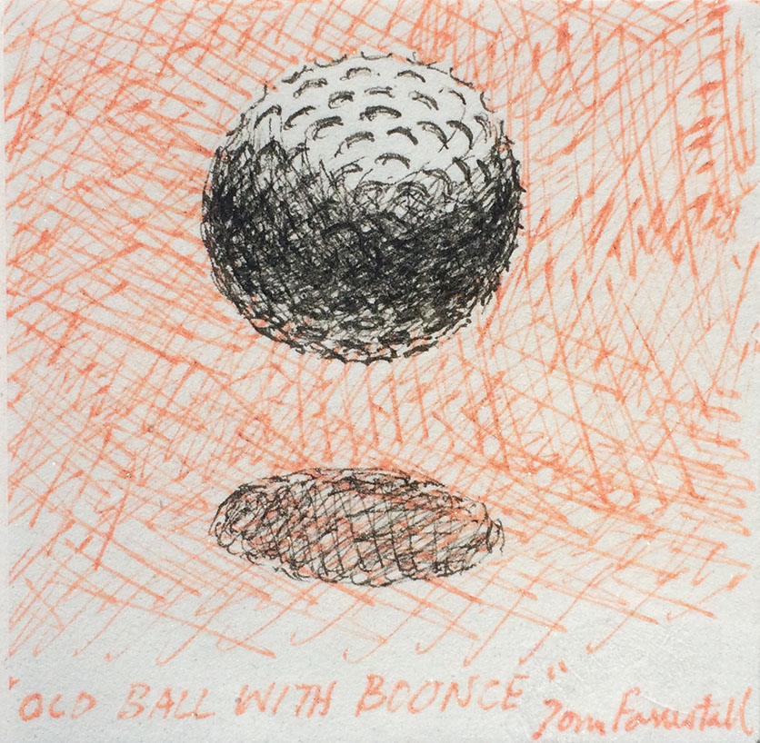 Old Ball With Bounce Tom Forrestall