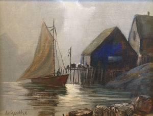 William deGarthe painting