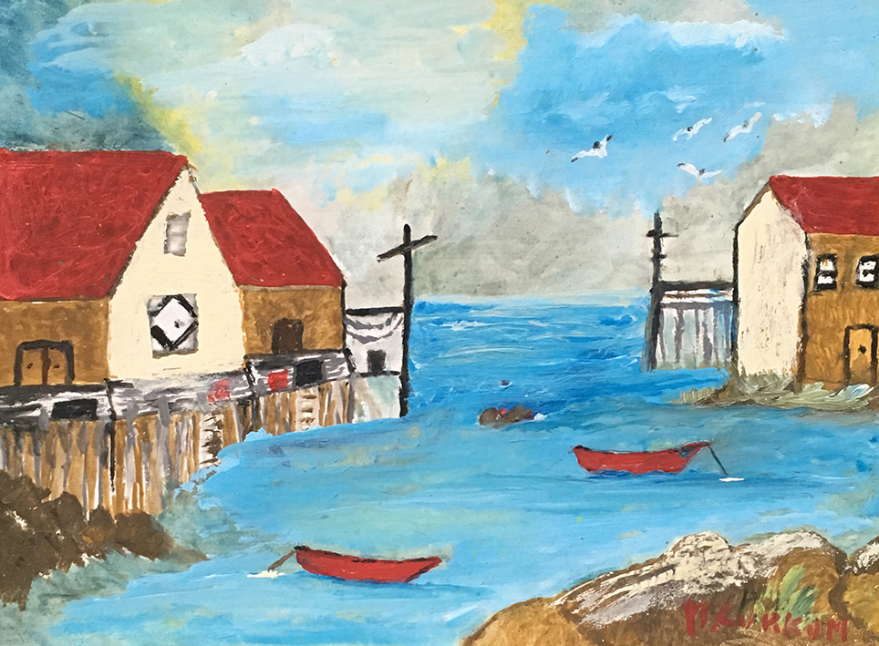 Wharf and Boats