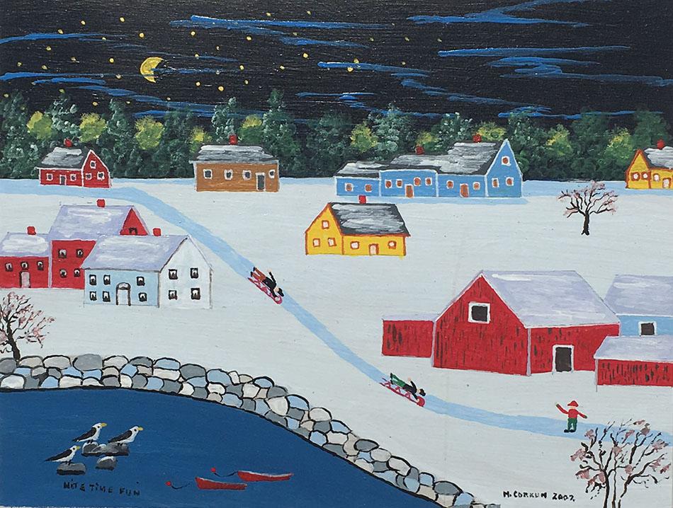 Mel Corkum painting for sale