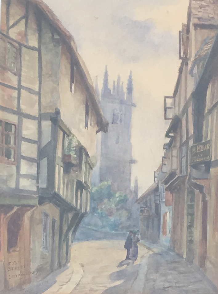 Fish Street Shrewsbury