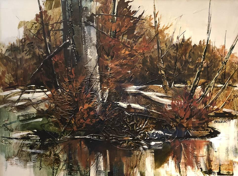 Pine in the Fall — Jennie Edmonds Hancock