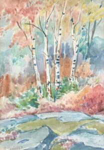 Birches in the Fall — Edith Agnes Smith