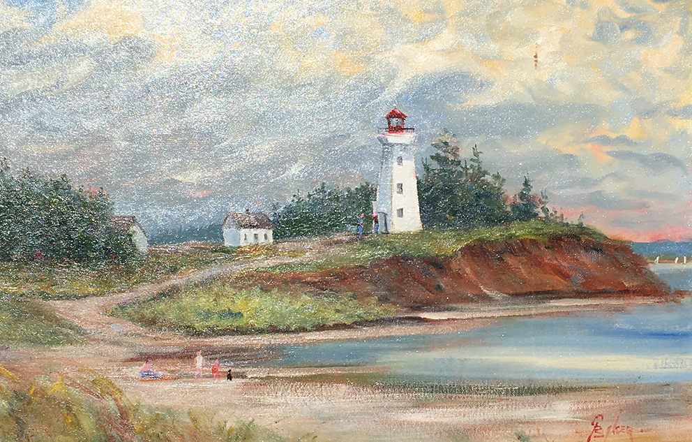Panmure Island Light PEI — Graham Baker
