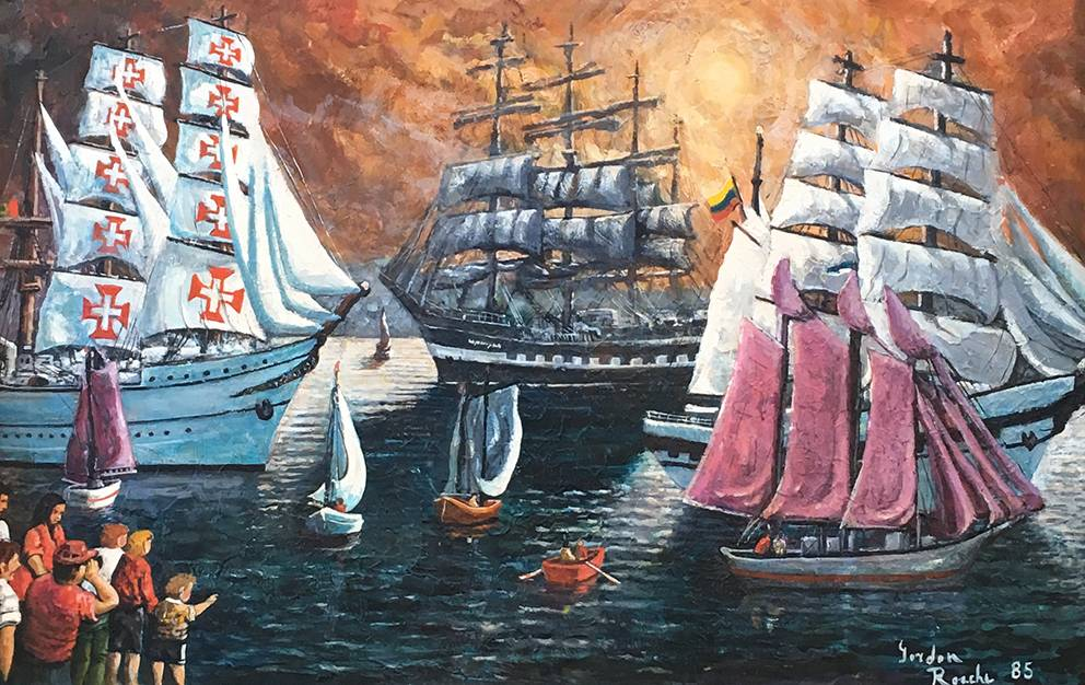 Parade of Sail — Gordan Roache